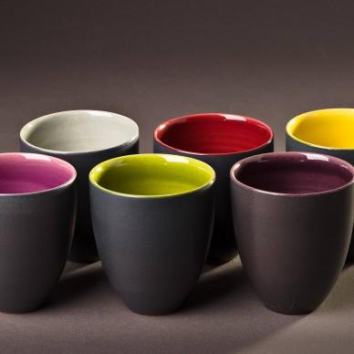 Set of six goblets