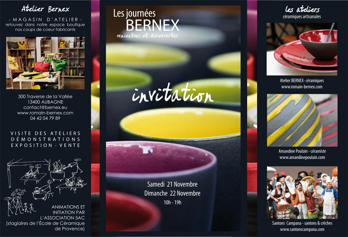 Journées Bernex - Porte ouverte céramique - idées cadeaux
