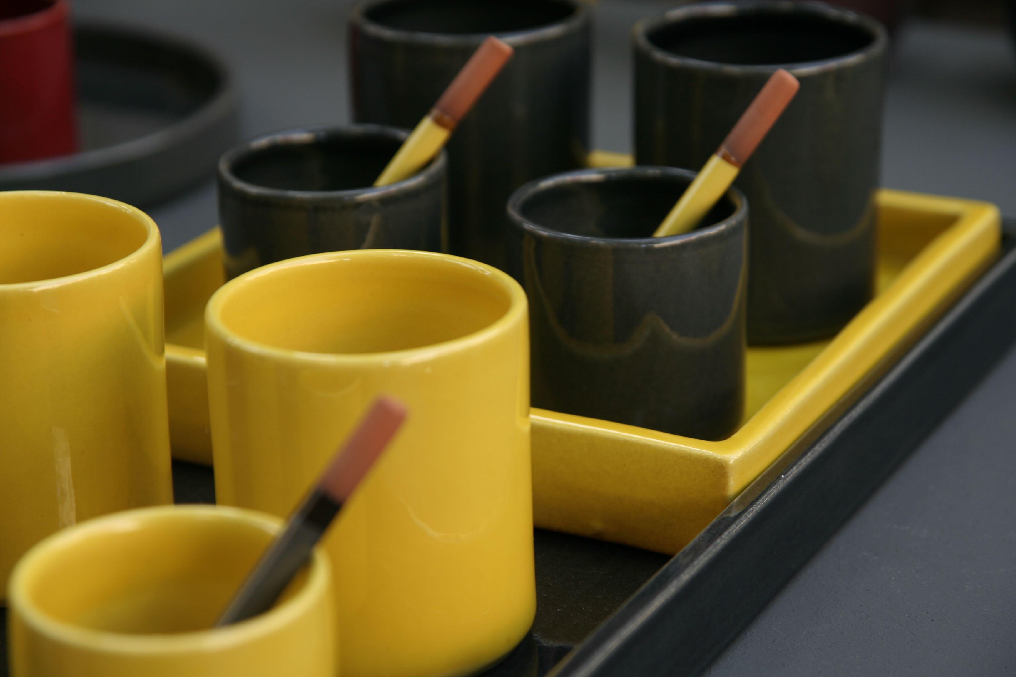 Argilla Argila Atelier Romain Bernex petit pot et plateau