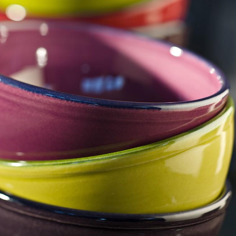 bol coloré, poterie et céramique design